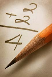 Math and pencil